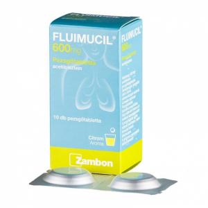 Fluimucil forte 600 mg pezsgõtabletta - 10x
