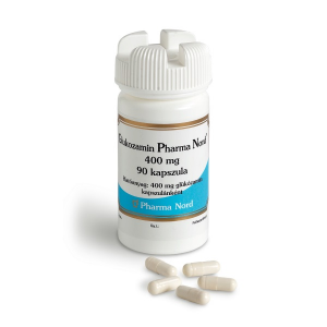 Glukozamin Pharma Nord 400 mg kemény kapszula - 90x