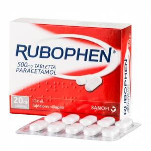 Rubophen 500 mg tabletta - 20x