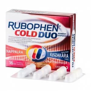 Rubophen Cold Duo kemény kapszula - 2x(6+2)