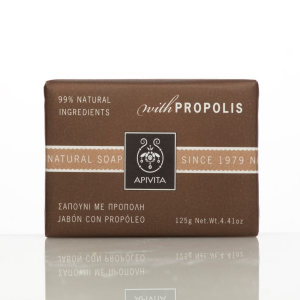APIVITA Natúr szappan propolisszal, zsíros bőrre 125gr
