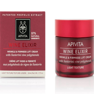 APIVITA WINE ELIXIR - Ránctalanító arckrém LIGHT 50ml