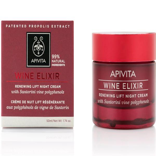 APIVITA WINE ELIXIR - Ránctalanító éjszakai krém