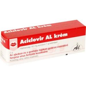 ACICLOVIR AL 50 mg/g krém 2gr
