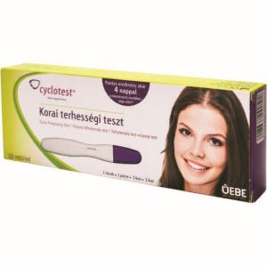 Cyclotest korai terhességi teszt