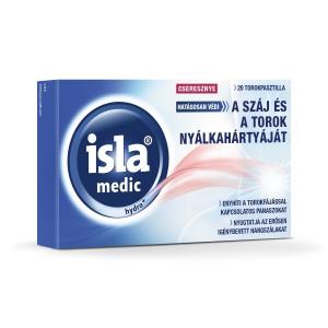 Isla-Medic Hydro+ pasztilla cseresznye 20x
