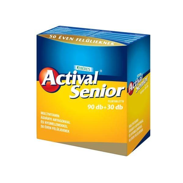 Actival Senior filmtabletta 90+30x