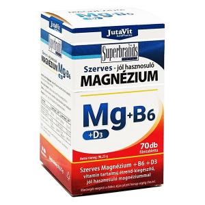 Jutavit szerves magnézium +B6+D3 filmtabletta