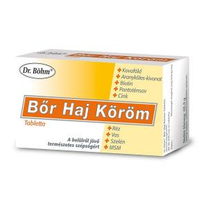 Dr.Böhm Bőr Haj Köröm tabletta