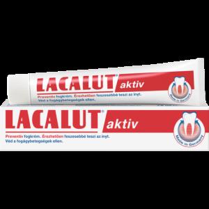 Lacalut aktív fogkrém 75ml