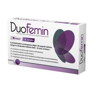 Duofemin étrend-kiegészítõ tabletta 28+28x