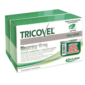 Tricovel Biogenina 10mg tabletta Duopack