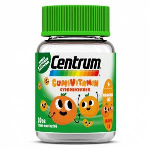 Centrum Gumivitamin gyermekeknek narancs ízben 30x
