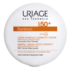 Uriage BARIÉSUN kompakt púder sötét SPF50+