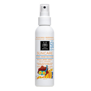 APIVITA SUNCare KID Spray aloe vera SPF50+kulacs 150ml