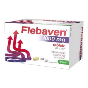 Flebaven 1000 mg tabletta 60x