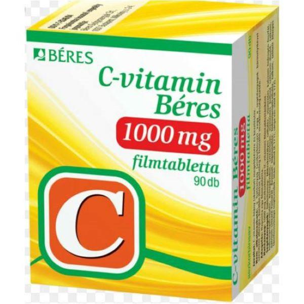C-vitamin Béres 1000 mg filmtabletta