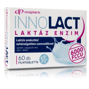 VitaPlus Innolact laktáz 6000FCCU filmtabletta