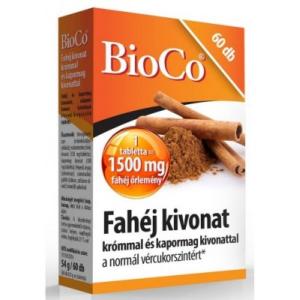 BioCo Fahéj kivonat tabletta