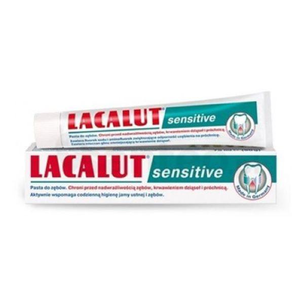Lacalut sensitive fogkrém