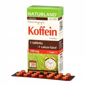 Naturland Koffein tabletta 60x