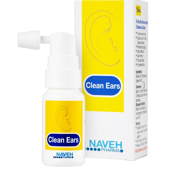 Cleanears (fültisztító spray)