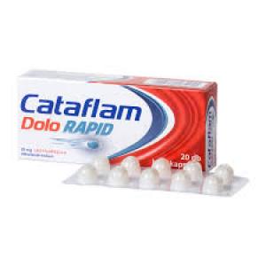 Cataflam Dolo rapid 25 mg lágy kapszula 20x