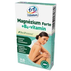1x1 Vitamin Magnézium Forte+B6 BioPerine-nel ftbl.