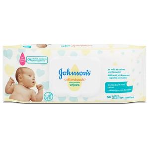 Johnsons CottonTouch babatörlõkendõ 56x