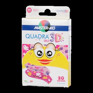 MASTER AID Quadra 3D sebtapasz girls 20x