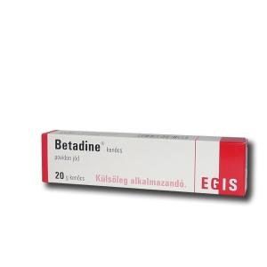 Betadine kenőcs 20gr