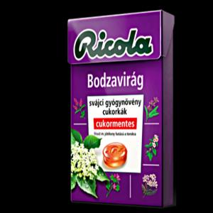 Ricola Bodza gyógynövényes cukorka 40gr