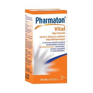 Pharmaton Vital lágy kapszula 100x