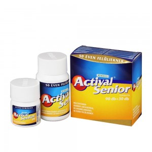 Actival Senior Plusz filmtabletta 90+30x