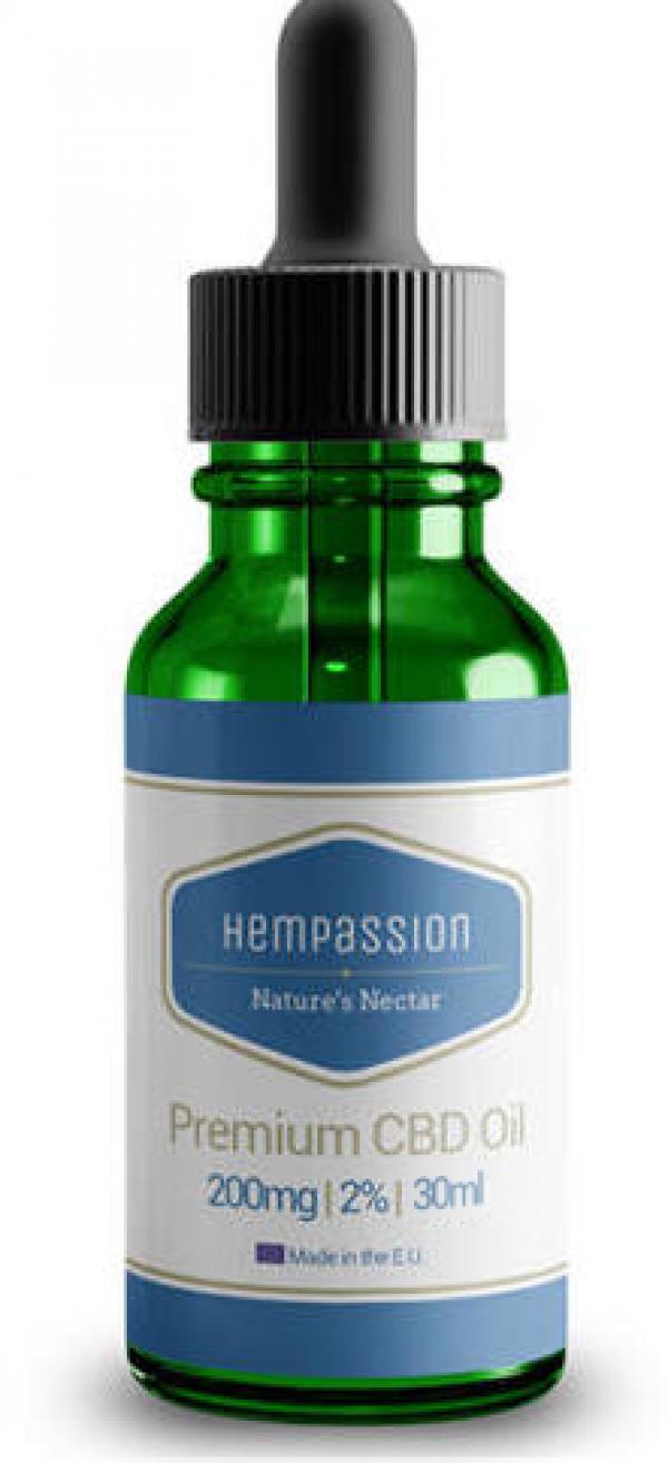 Hempassion CBD olaj 2% - 30 ml