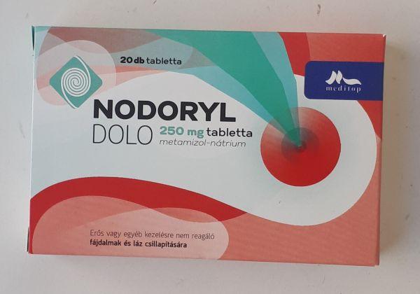 Nodoryl Dolo 250 mg tabletta 20x
