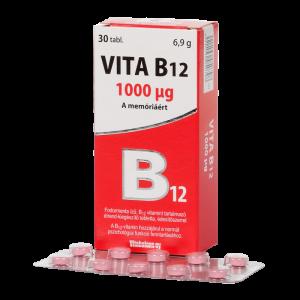 Vitabalans Vita B12 1000mcg tabletta 30x