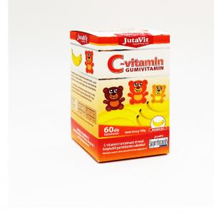 JutaVit C-vitamin gumivitamin banán ízû 60x
