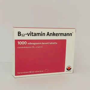 Vitamin B12 Ankermann 1000 mcg bevont tabletta 50x