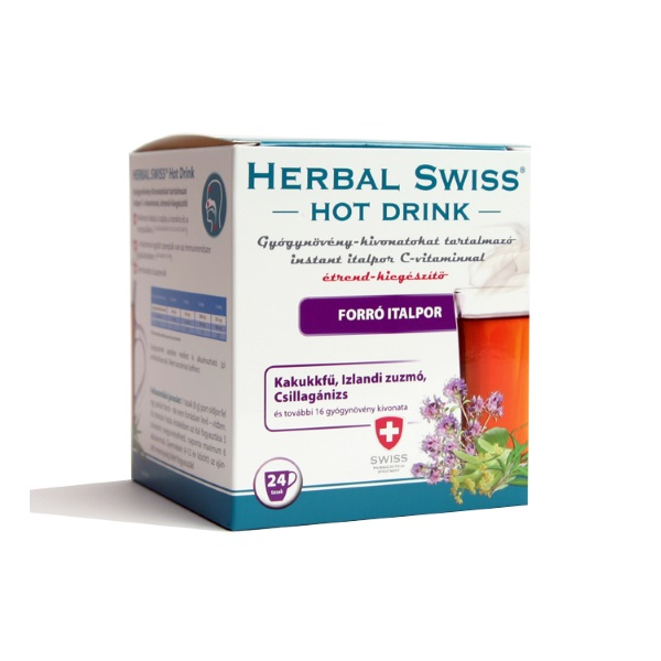 Herbal Swiss Hot Drink gyógynöv.kiv.inst.italpor 24x