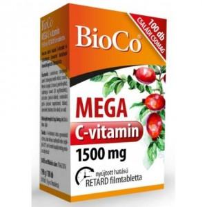 BioCo Mega C-vitamin 1500mg retard filmtabletta 100x