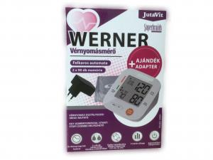 Vérnyomásmérõ aut. felkaros Jutavit WERNER+adapter