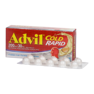 Advil Cold rapid 200 mg/30 mg lágy kapszula 20x
