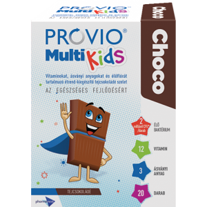 Provio MultiKids Choco étrendkieg. tejcsoki ízû 20x