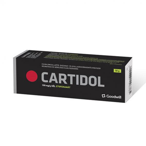 Cartidol 100 mg/g gél 50gr