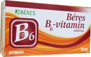 Béres B6-vitamin tabletta 30x
