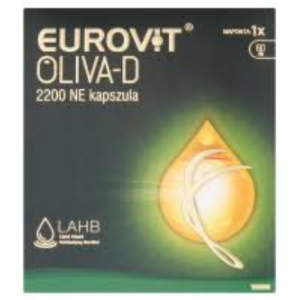 Eurovit Oliva-D 2200NE speciális kapszula 60x