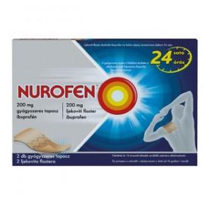 Nurofen 200 mg gyógyszeres tapasz 2db