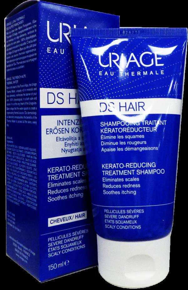 Uriage D.S. HAIR Intenzív sampon erős korpára