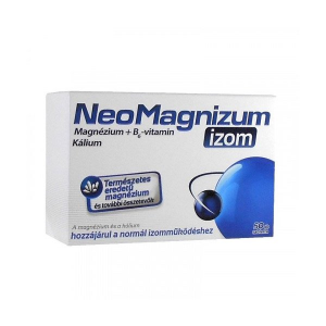 NeoMagnizum izom magnézium tabletta 50db
